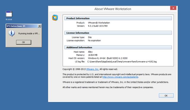 VMware detektieren