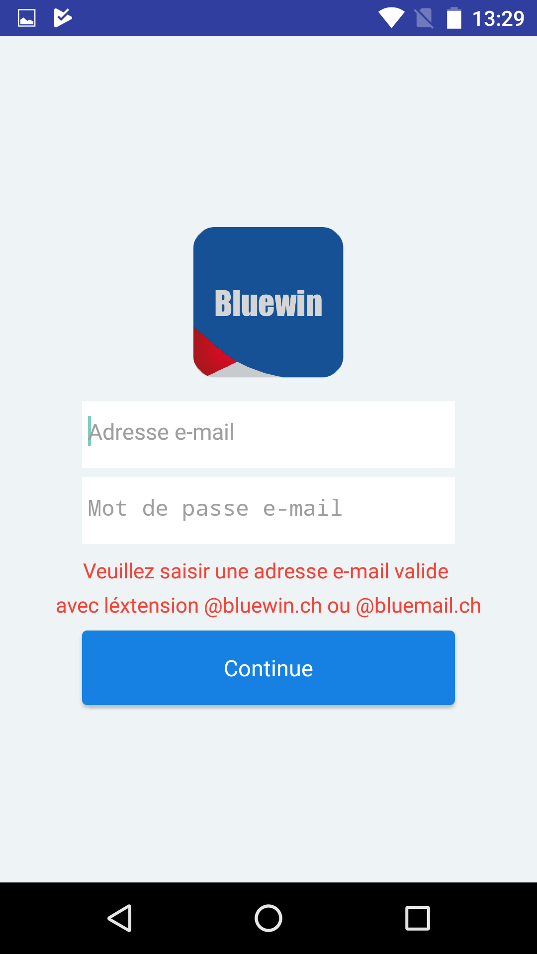Login bluewin